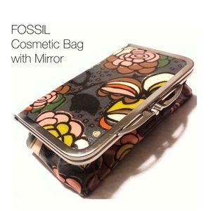 Fossil Bags - FOSSIL Key-Per Vintage Style Cosmetic Bag/Case